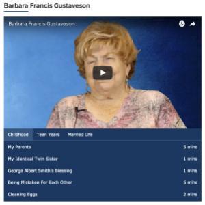 Barbara Francis Gustaveson